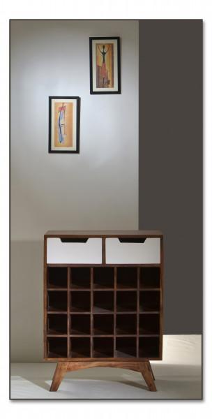Sixties Weinregal 60x35x80 cm