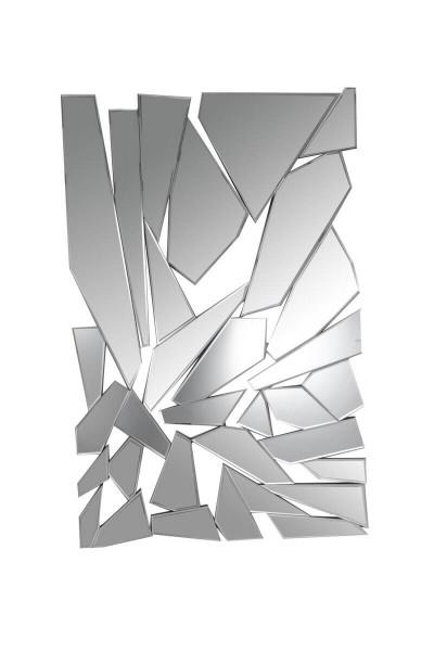 Wandspiegel rechteckig aus Splittern