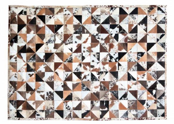 Teppich Kuhfell braun 200x300 cm