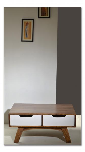 Sixties Couchtisch 80x80x35 cm