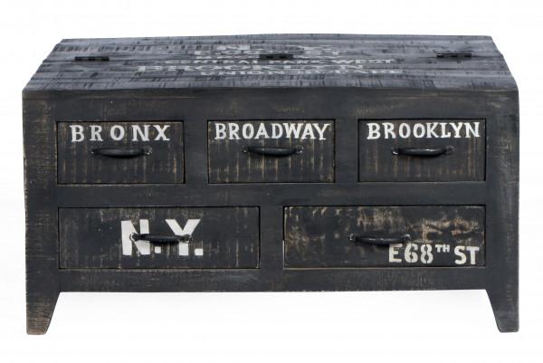 Bronx Couchtischtruhe 90x90x45 cm