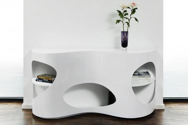 SalesFever Sideboard 150x40x75 cm weiß