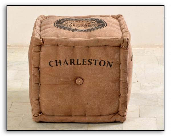 Charleston Sitzwürfel 40x40x40 cm