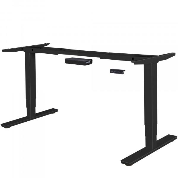 AMSTYLE® elektrisch höhenverstellbares Tischgestell schwarz Gestell mit Memory Funktion