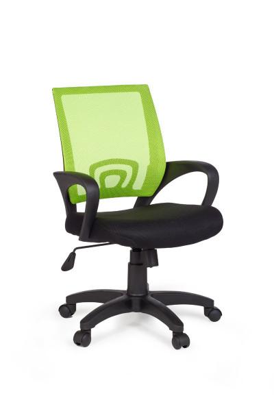 Amstyle Bürostuhl RIVOLI Lime Schreibtischstuhl mit Armlehne Bürodrehstuhl Jugendstuhl