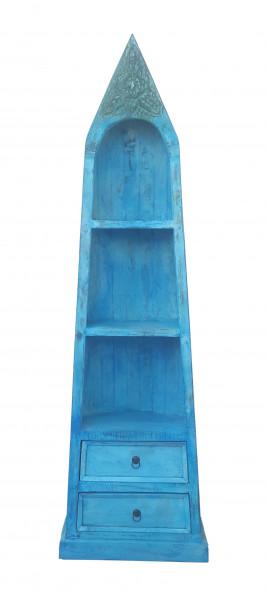 Blue Bootsregal 58x35x190 cm