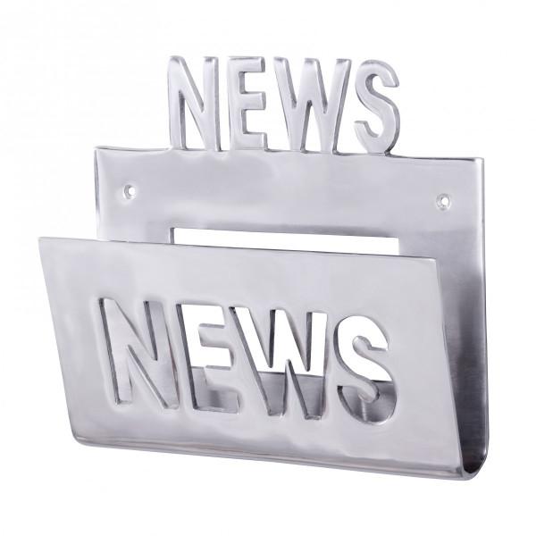 Wohnling Deko Prospekthalter NEWS für die Wand Design Zeitungshalter