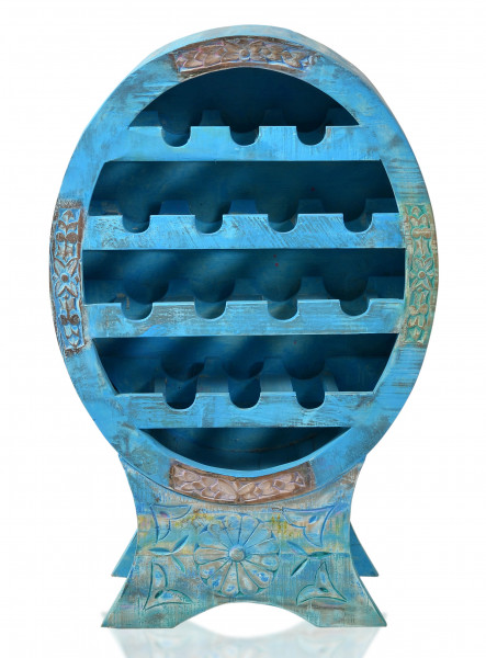Blue Weinregal 60x31x95 cm