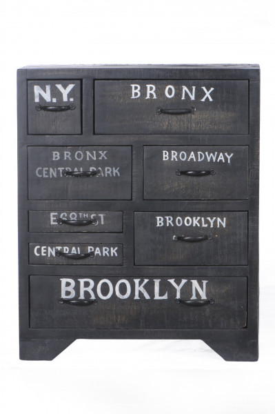 Bronx Kommode 70x30x85 cm