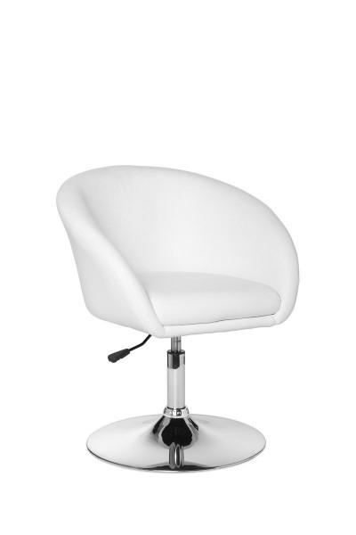 AMSTYLE Design Relaxsessel Loungesessel Kunstleder Cocktailsessel weiß