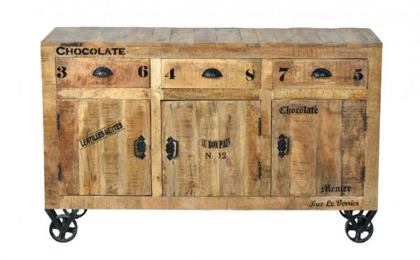 Rustic Sideboard 140x40x86 cm