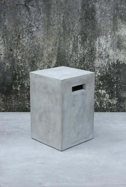 Cement Blumenhocker 25x25x50 cm