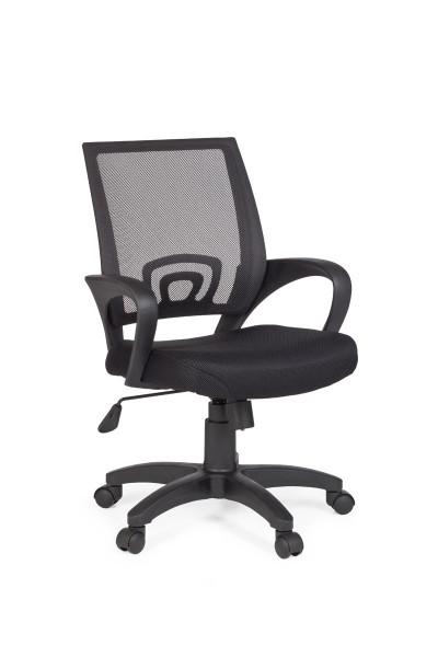 Amstyle Bürostuhl RIVOLI Schwarz Schreibtischstuhl mit Armlehne Bürodrehstuhl Jugendstuhl