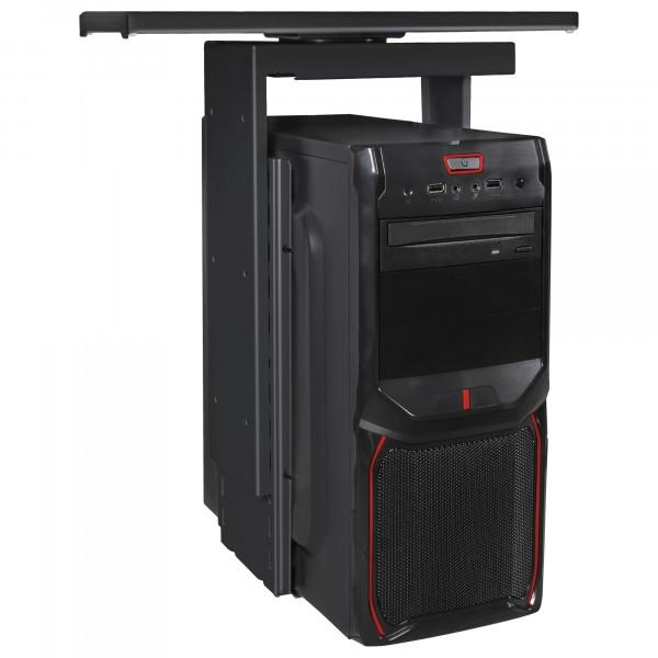 AMSTYLE® PC-Halter 360° drehbar Universal Computerhalterung 46 - 68 cm schwarz