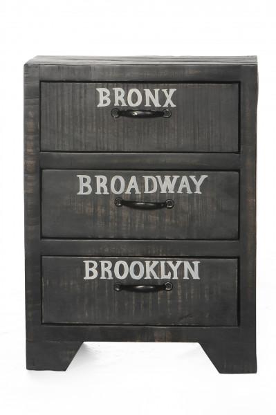 Bronx Telefontisch 45x33x60 cm