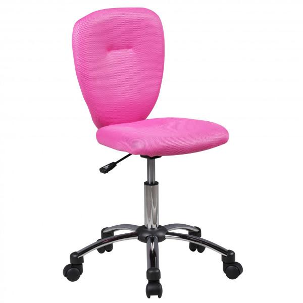 Amstyle Kinder-Schreibtischstuhl ANNA für Kinder ab 6 mit Lehne Rollen Kinder-Drehstuhl