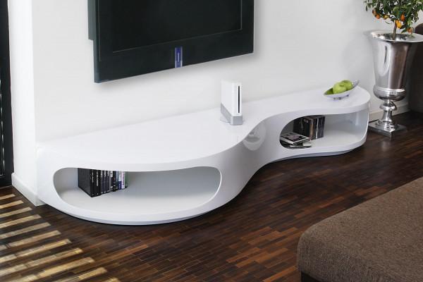 Lowboard 200x50x30 cm weiß