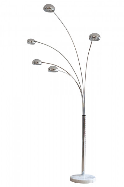 Stehlampe Five Fingers 205 cm chrom