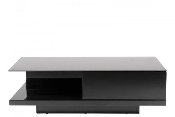 SalesFever Couchtisch 120x60x36 cm schwarz
