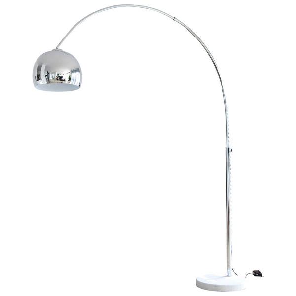 Bogenlampe 208 cm chrom