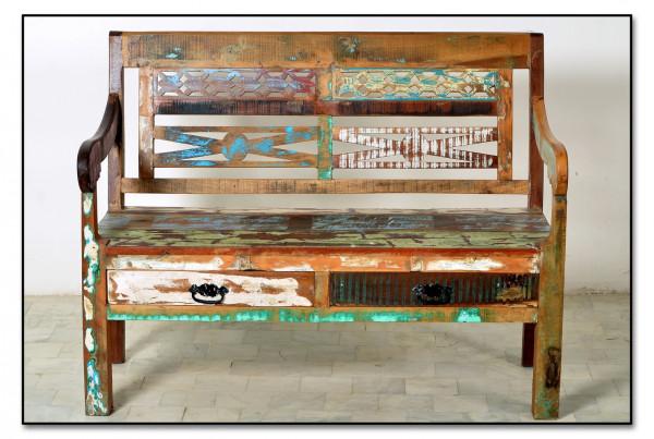 Riverboat Bank 120x50x95 cm