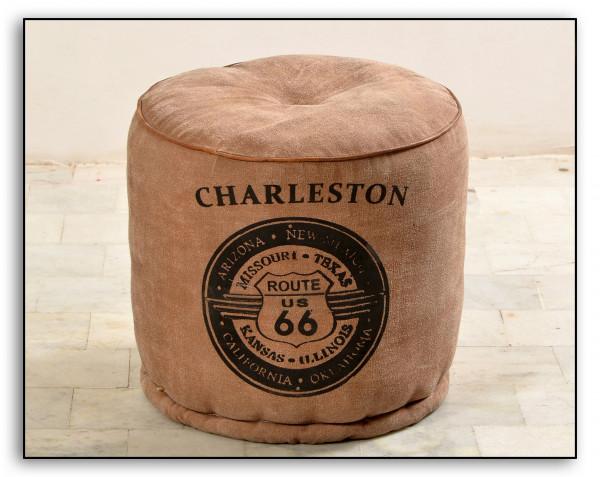 Charleston Sitzhocker 40x40x45 cm