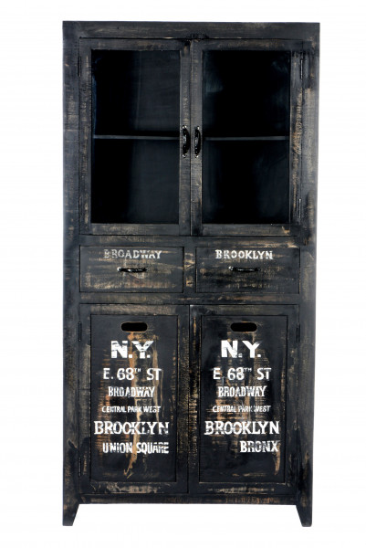 Bronx Vitrine 90x40x180 cm