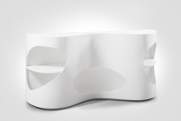Sideboard 150x40x75 cm weiß