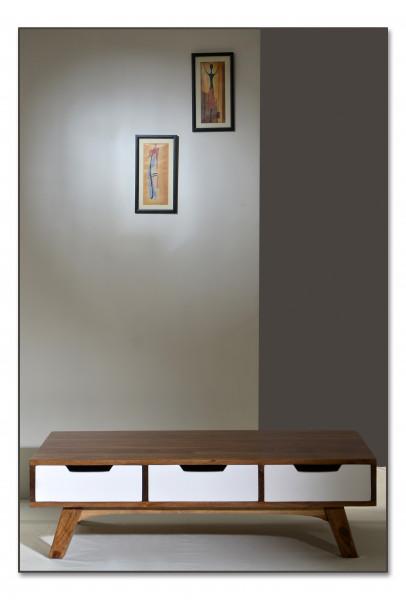Sixties Couchtisch 120x70x35 cm