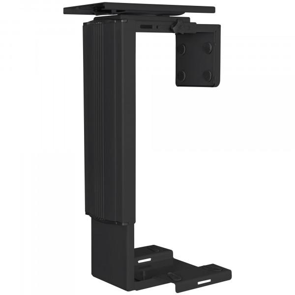 AMSTYLE® PC-Halter SPM4.012 Schwarz 360° Drehbar Universal Computerhalterung 38,5 - 52,5 cm