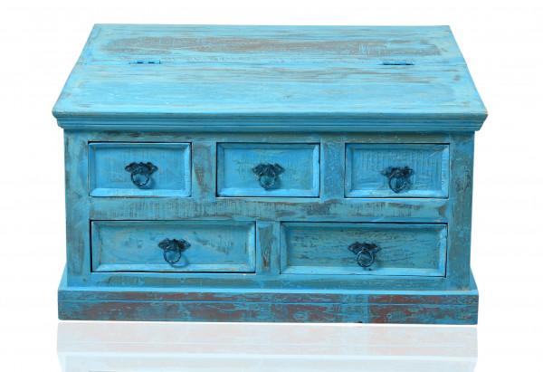 Blue Couchtischtruhe 90x90x47 cm