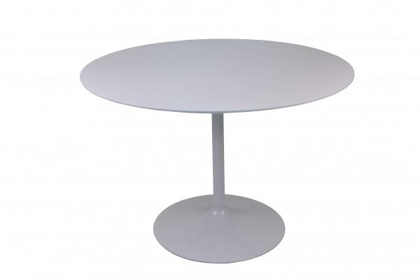 Bistrotisch rund weiß Ø110 cm