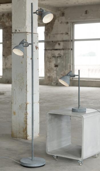 Stehleuchte 23 x 143 cm Beton-Optik